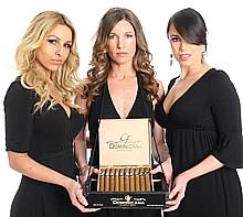 L.A. area cigar server at cigar roller event